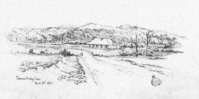 Martens, Conrad: Crown Ridge Inn, 1874 (SLNSW)