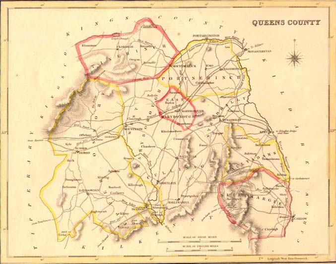 Map Of Ireland Leinster.The Leinster Colliery District Of Queen S County Ireland