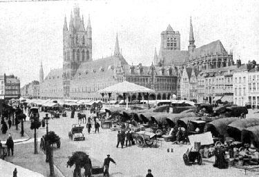 Ieper in 1914